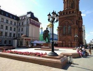 Памятник Фёдору Шаляпину