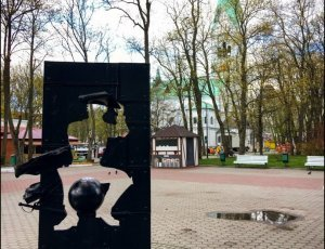 Памятник барону Мюнхаузену