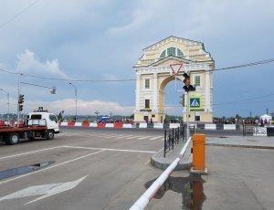Триумфальная арка «Московские ворота»