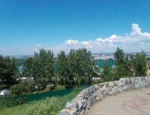 Фото Смотровая площадка «Пик Любви» в Иркутске