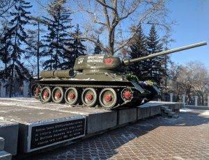 Памятник «Танк Иркутский Комсомолец»