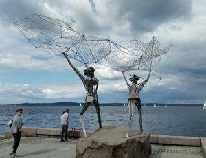 Скульптура «Рыбаки»