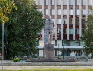 Памятник О.В. Куусинену