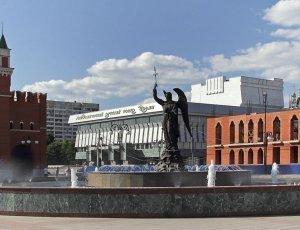Памятник-фонтан Архангелу Гавриилу