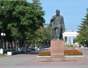 Памятник С.Г.Чавайну