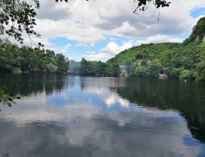 Нижнеголубое озеро