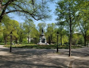 Парк Humlegarden