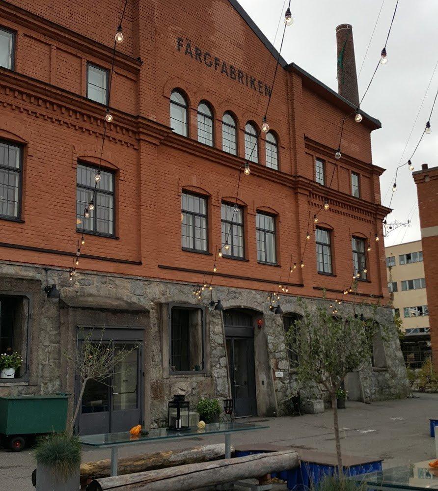Художественная галерея «Färgfabriken» в Стокгольме (Швеция ...