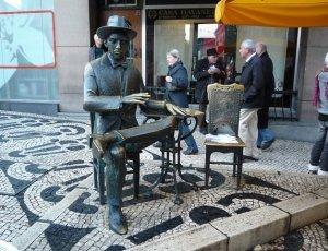 Скульптура Фернандо Пессоа