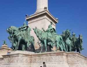 Памятник Тысячелетию Венгрии