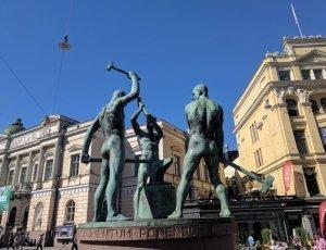 Памятник «Три кузнеца»