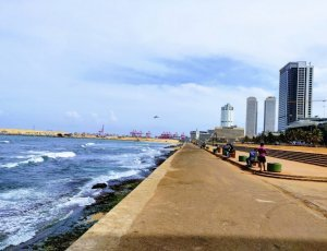 Пляж «Galle Face Green»