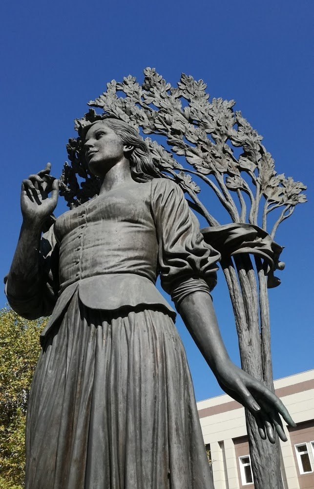 памятник кларе лучко в краснодаре фото сегодняшний день
