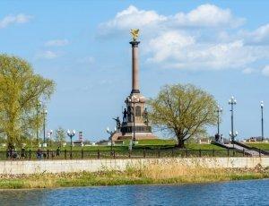 Фото Памятник 1000-летию Ярославля