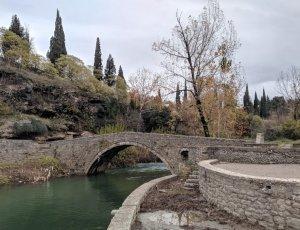 Старый мост Аджи-Паши через реку Рыбница