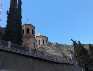 Церковь Святого Давида на горе Мтацминда
