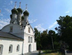 Успенская церковь на Ильинской горе