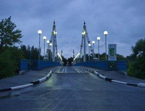Фото Мост на остров Даманский