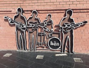 Памятник группе «The Beatles»