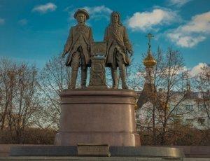 Памятник В.Н. Татищеву и В.И. Де Геннину