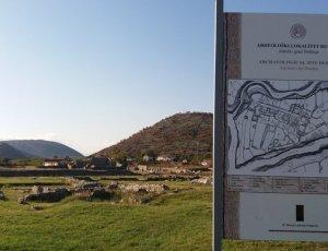 Развалины древнего города Дукля