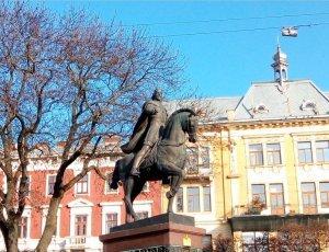 Памятник Королю Данилу Галицкому