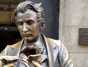 Памятник Леопольду фон Захер-Мазоху