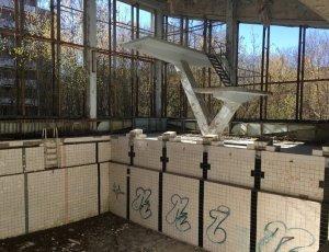 Фото Бассейн «Лазурный» в Припяти