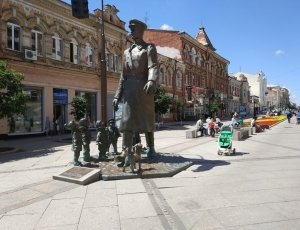 Памятник «Дядя Стёпа милиционер»