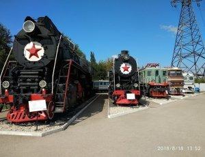 Фото Поволжский музей железнодорожной техники