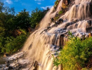 Фото Водопад «Порог ревущий»