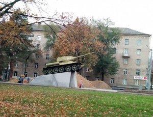 Памятник генералу Пушкину Ефиму Григорьевичу