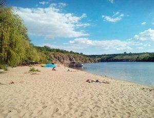 Пляж ЗАлК