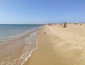 Пляж Тортуга в Витязево