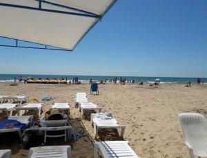Пляж ЛОК Витязь