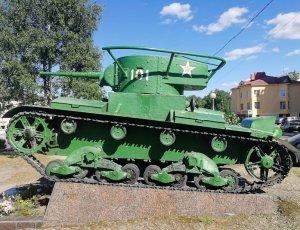 Памятник «Танк Т-26»