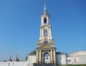 Колокольня Ризоположенского монастыря