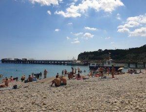 Пляж Голубая Бухта