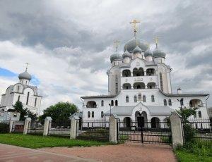 Храм прихода Благовещенской Пискаревской церкви