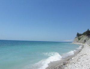 Дивноморское: Дикий Пляж