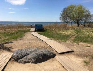 Синий Камень на Плещеево озере