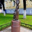 Фото Памятник Снегурочке в Костроме 8