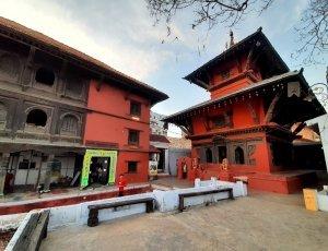 Непальский индуистский храм
