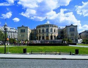 Здание парламента Стортинг
