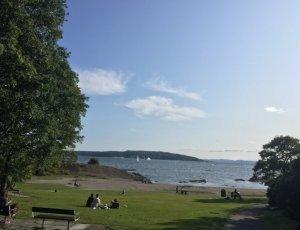 Парк и пляж Хук