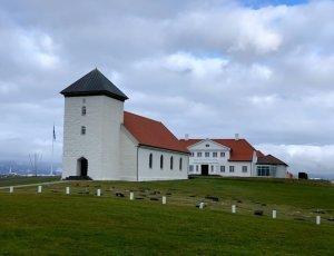 Резиденция президента Исландии «Бессастадир»