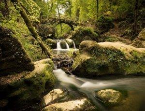 Водопад Шиссентюмпель