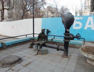 Памятник Водопроводчику в Перми