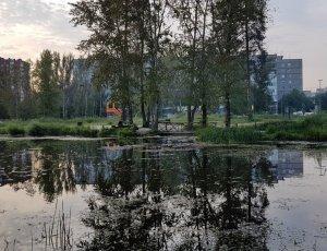 Пруд в Балатовском парке