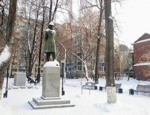Памятник «Сказки Пушкина»